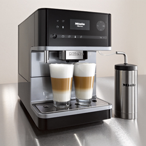 Wolf Black and silver coffee maker