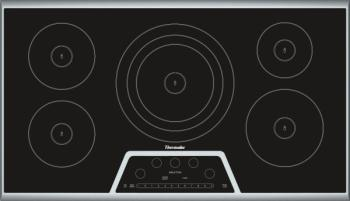 Black electric cooktop from Bill Vandegrift