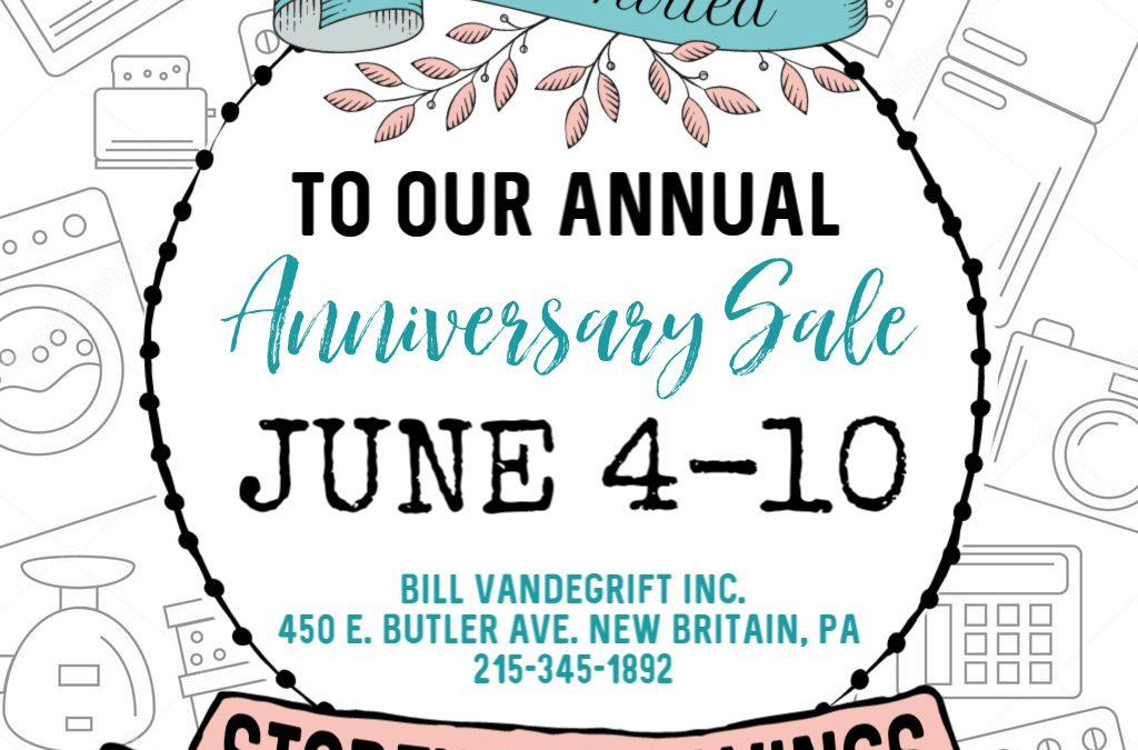 June Anniversary Sale