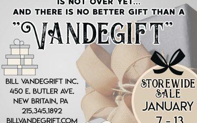 Storewide Sale: January 7-13